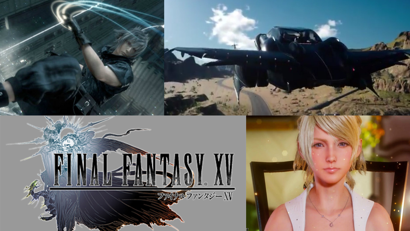 Final fantasy xv release date in Brisbane