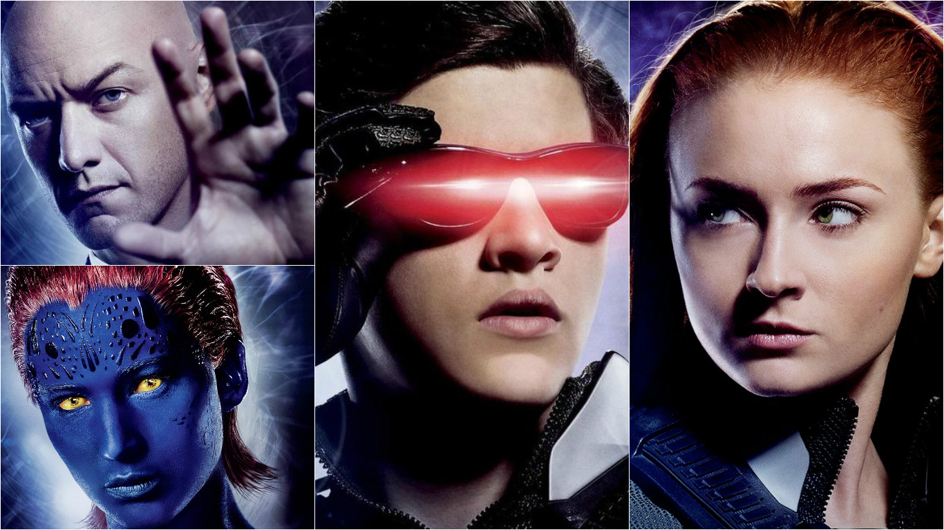 new character posters released for the cast of x men apocalypse