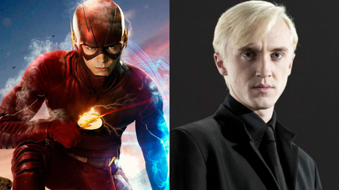 Tom Felton Joins The Cast Of The Flash For Season 3 - It's All The Rage