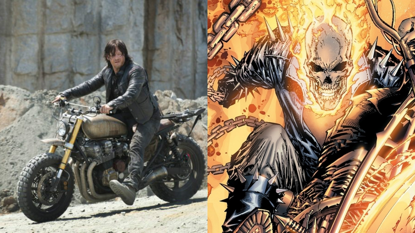 Norman Reedus Says He's Down To Play Ghost Rider - It's All The Rage