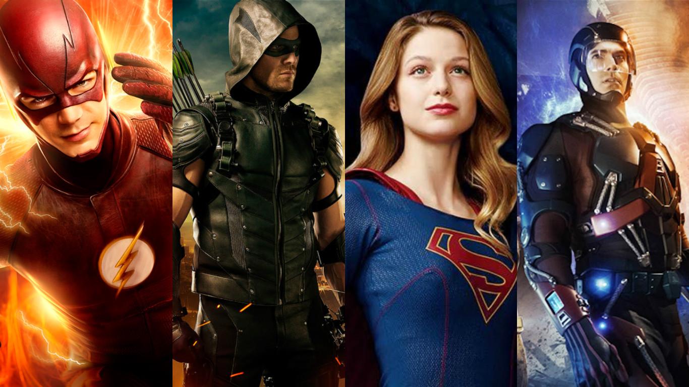 2560x1700 Legends Of Tomorrow Flash Arrow Supergirl