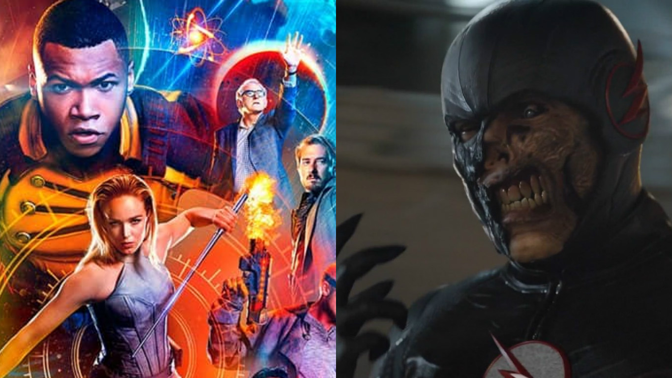Black Flash To Appear On Legends Of Tomorrow More Surprise Cameos In The Works It S All The Rage