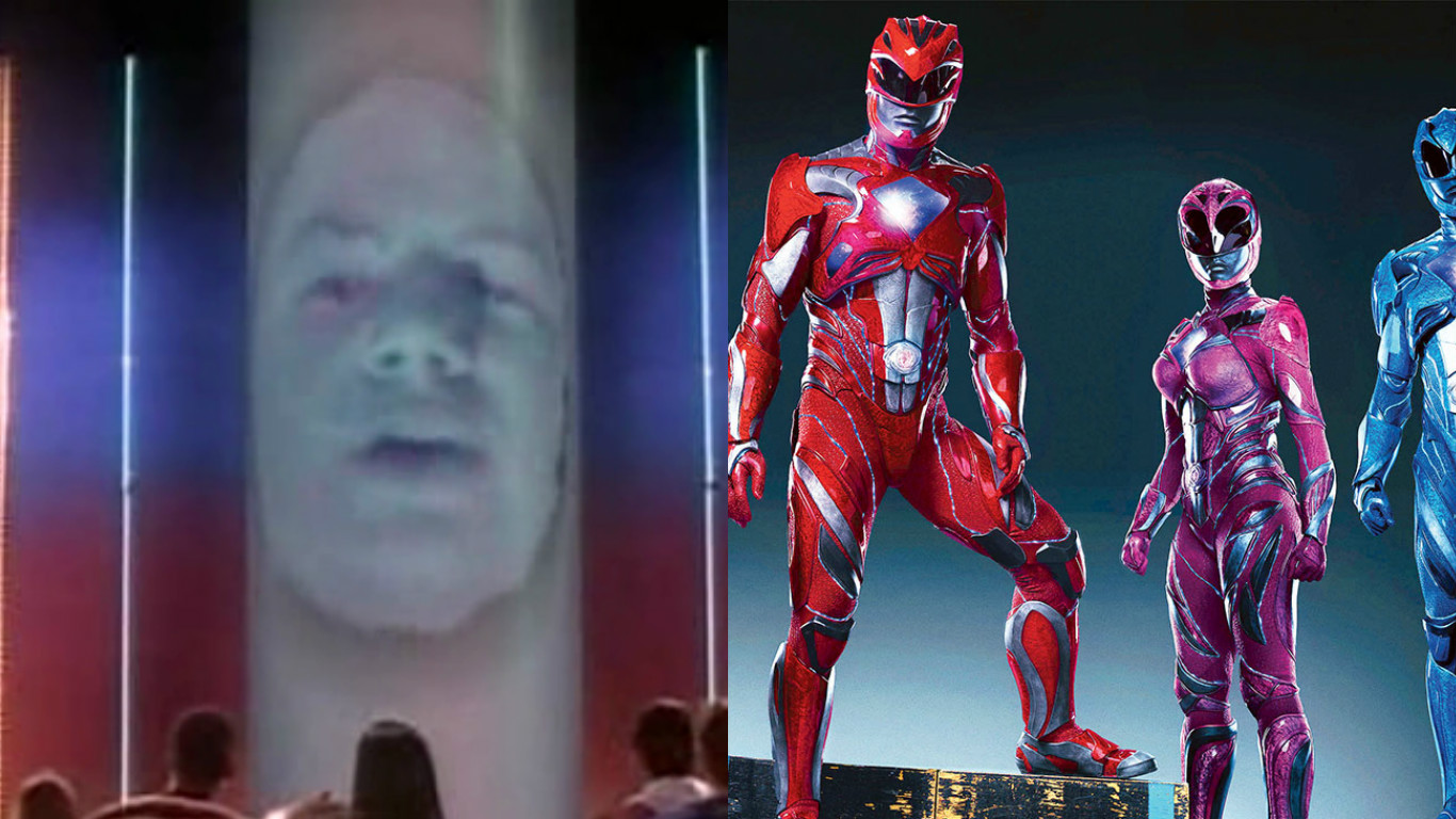 Power Rangers New Photo Of Bryan Cranston As Zordon
