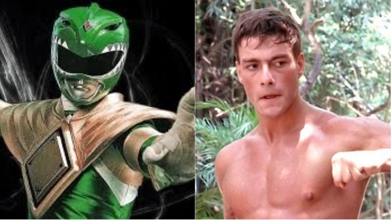 Image result for Green Power Ranger Jean Claude Van Damme