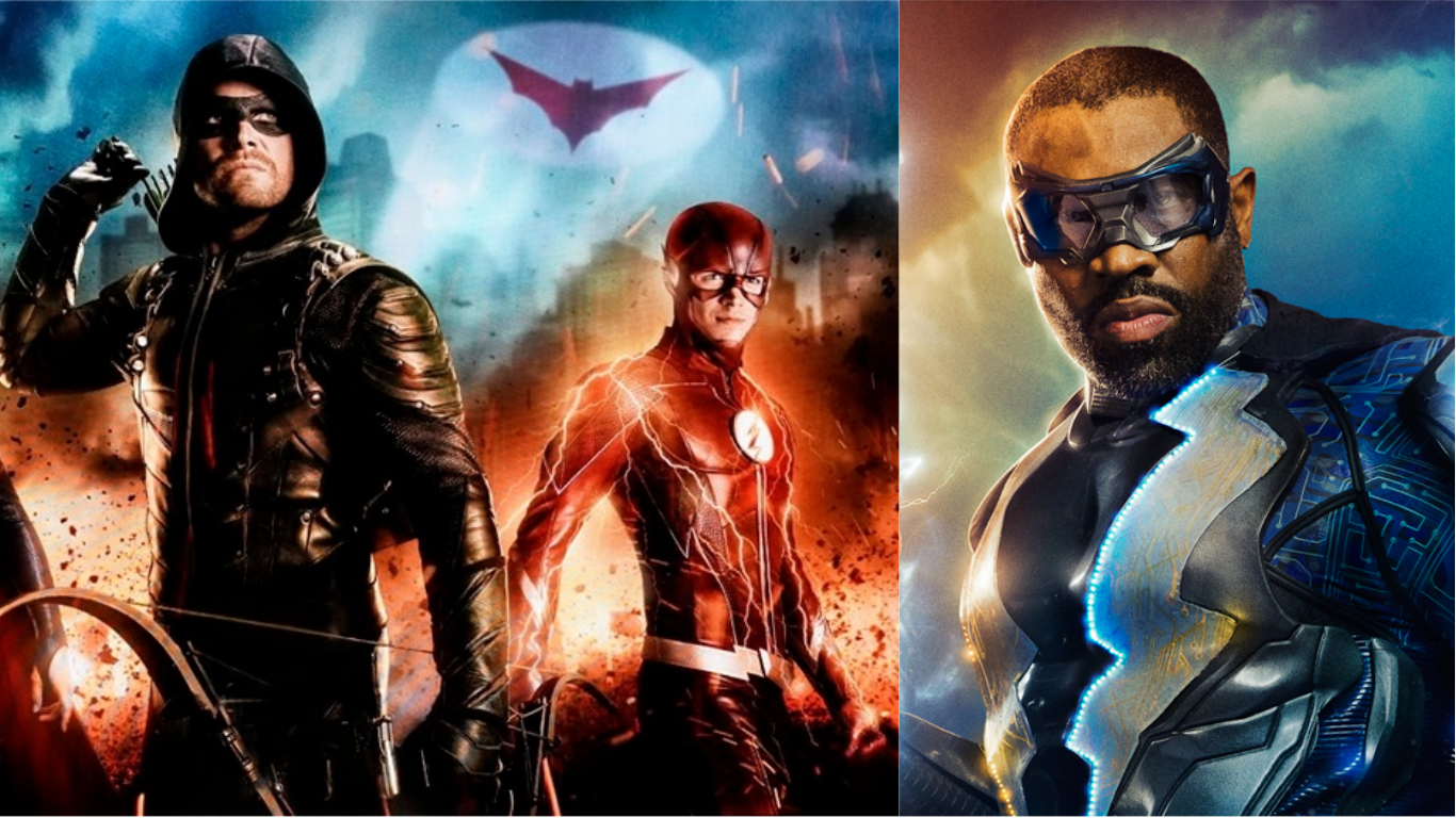 The Flash Star On Black Lightning Possibly Crossing Over With The Arrowverse